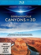 Lebende Landschaften - Geheimnisvolle Canyons in 3D (Blu-ray)