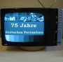 Heute vor 60 Jahren: Erste Testausstrahlung des bundesdeutschen Nachkriegsfernsehens