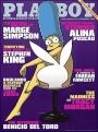 Marge Simpson zieht sich aus im Playboy